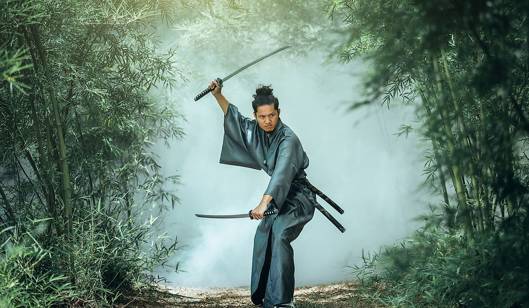 Mushin is a Japanese form of meditation that is crucial part of some Japanese martial art forms.