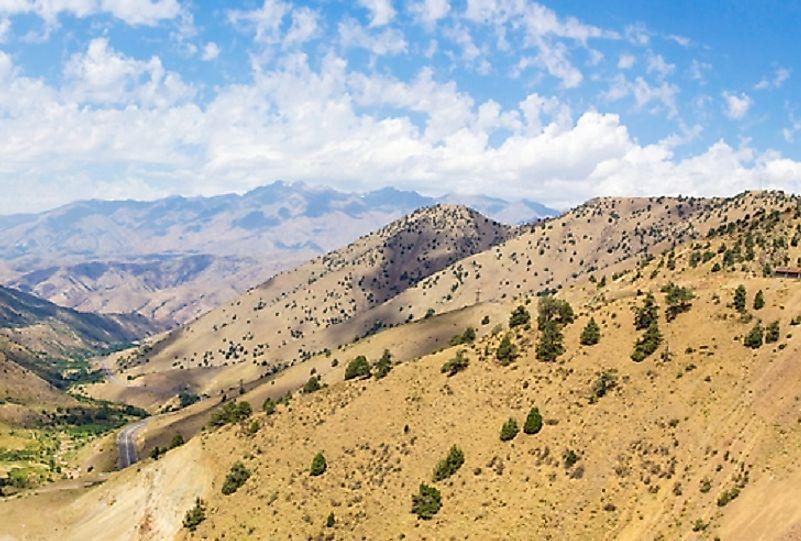 #3 Tajikistan (10,455 feet)