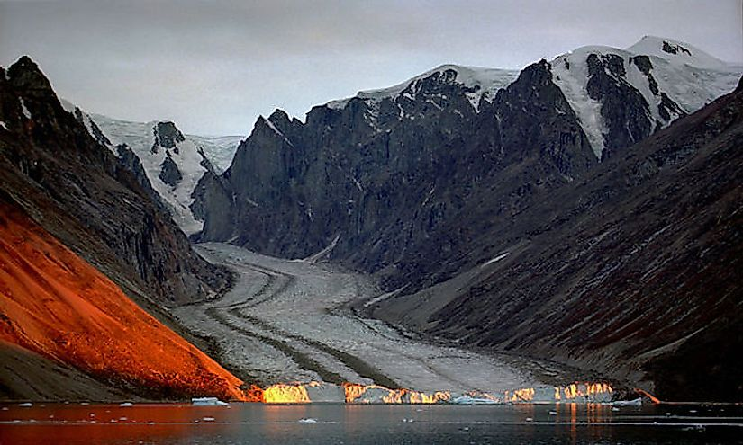 The northeast Greenland national park is the largest national park and protected area in the world.