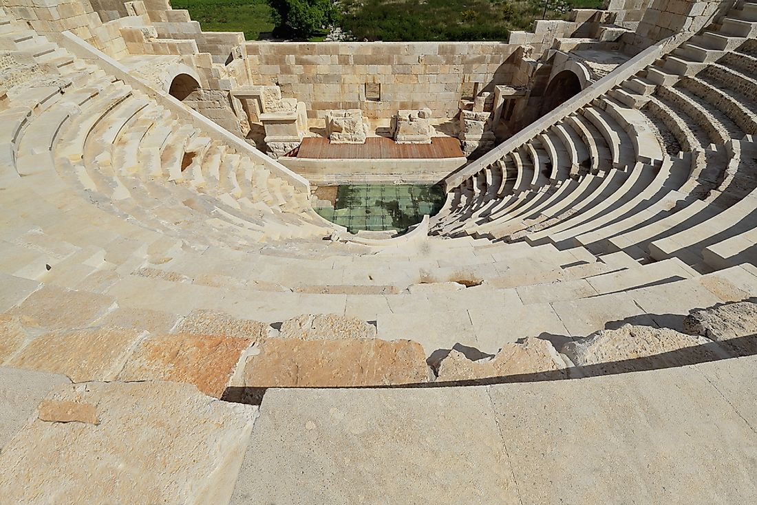 An assembly building dating back to the Hellenistic era.