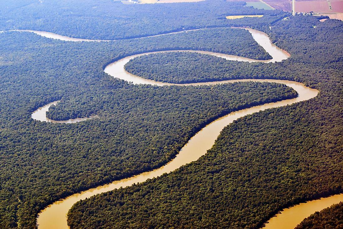the longest rivers in the world worldatlas com