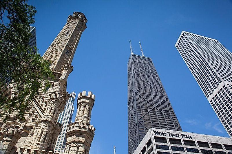 #7 John Hancock Center, Chicago - 1,128 Feet