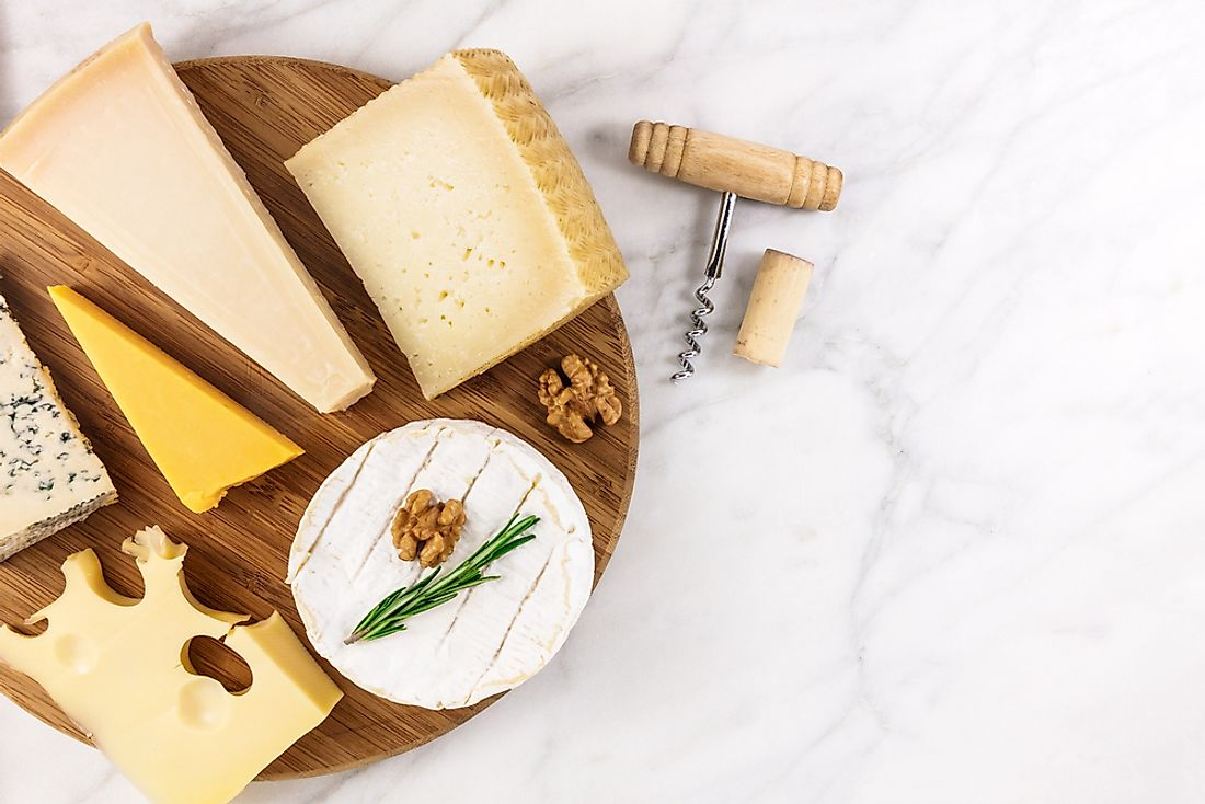 Cheese is a top food choice for many around the world.
