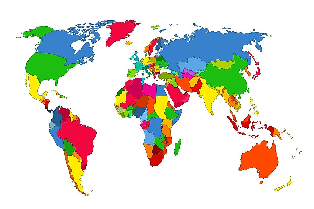 Map Countries Of The World.How Many Countries Are There In The World Worldatlas Com