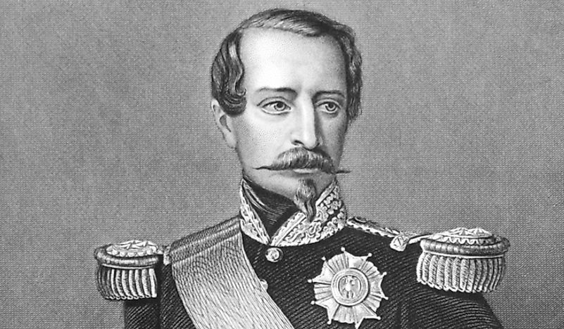 Napoleon III in military uniform. He would be the last monarch to rule the people of France.