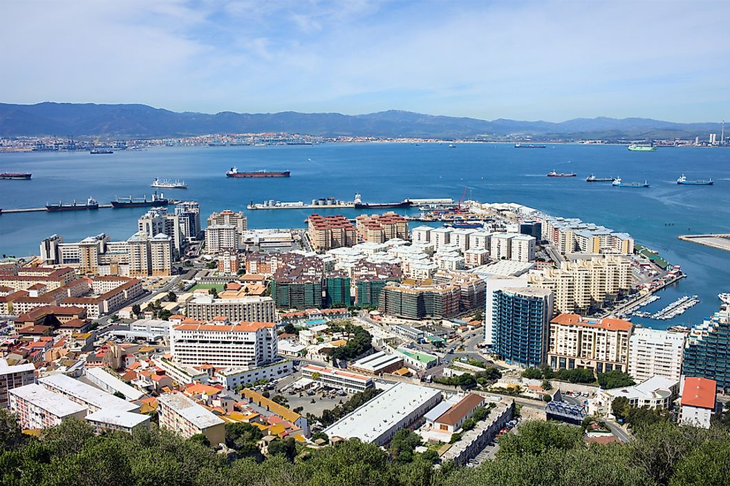 Gibraltar is a British Overseas Territory located on the southern part of the Iberian Peninsula.