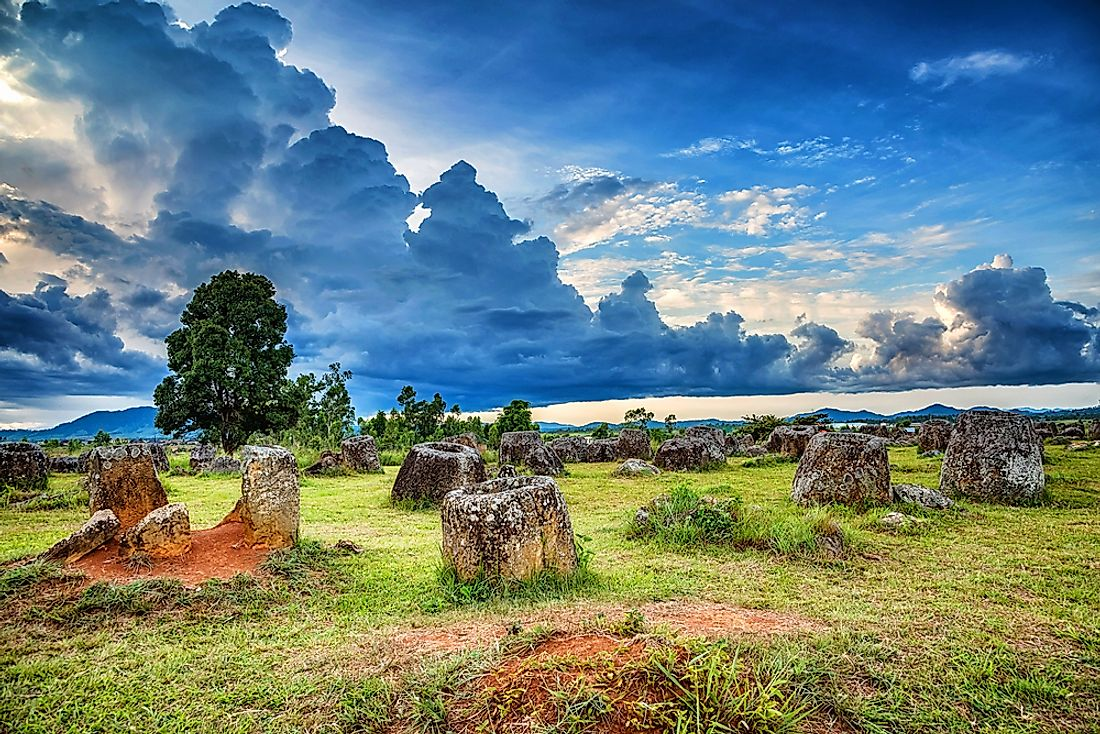 The Plain of Jars site.