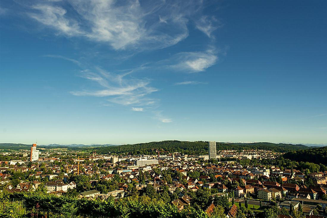 Winterthur, Switzerland, a recipient of the European City of the Trees award.