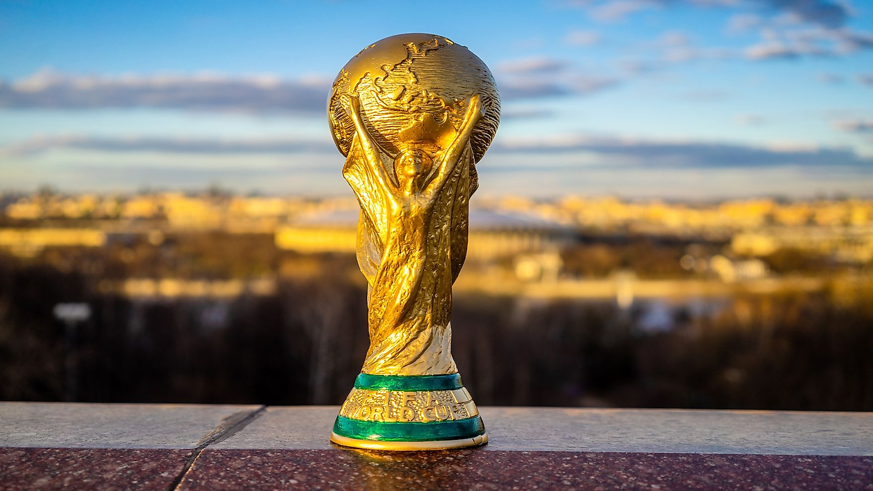 Trophy of the FIFA World Cup.
