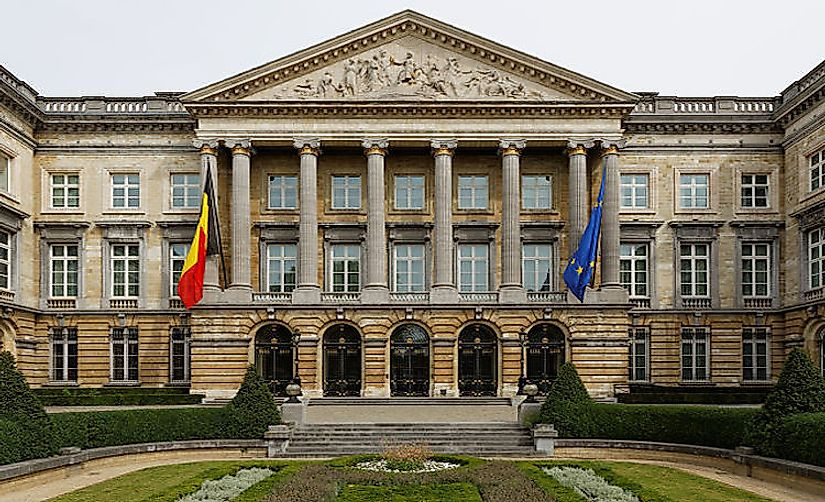 The Parliament in Belgium