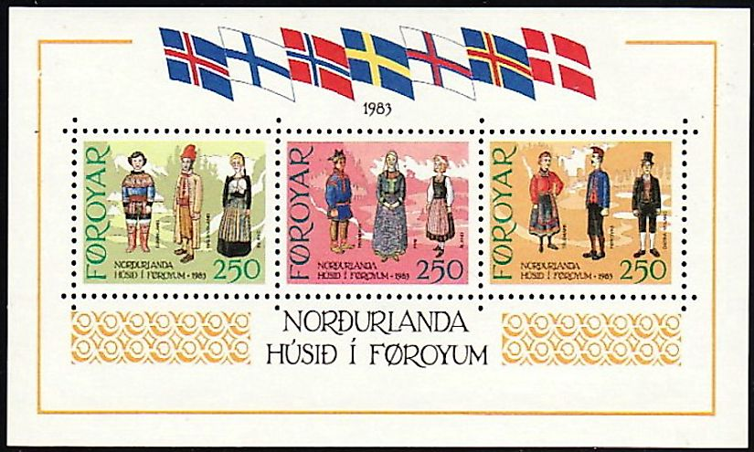 Faroese-language postage stamps used in the Faroe Islands of Denmark.
