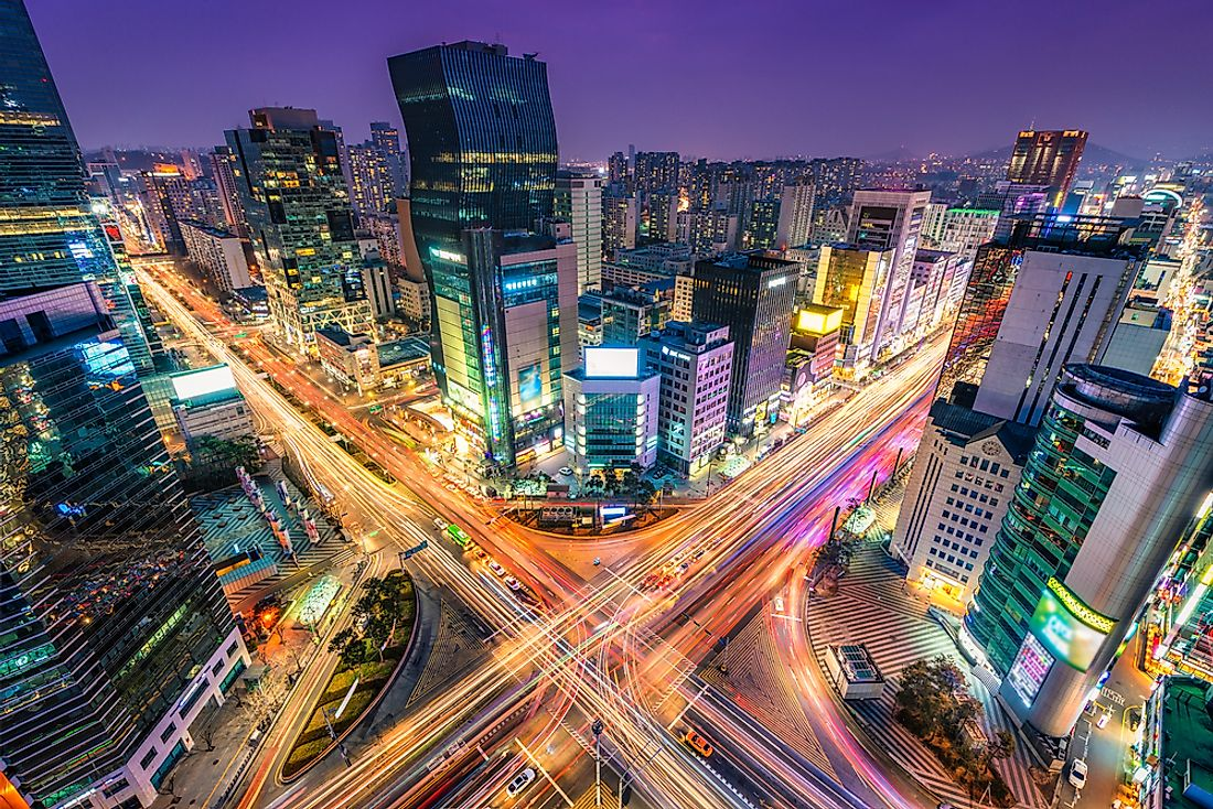Seoul, South Korea is said to be a megacity.