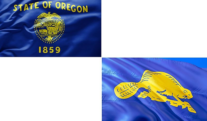 The only two-sided state flag in the United States is the flag of Oregon while the only nation with a double-sided flag is Paraguay.
