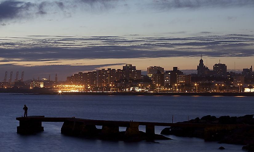 Montevideo is the biggest and capital city of Uruguay.