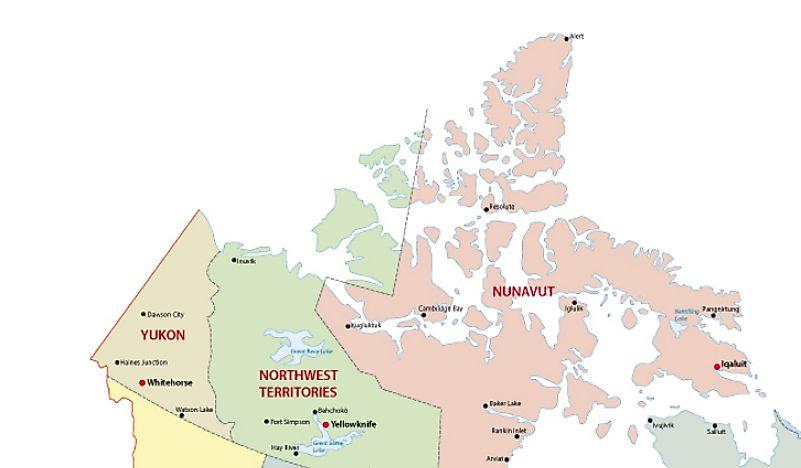 Map Of The Regions Of Canada.The Regions Of Canada Worldatlas Com