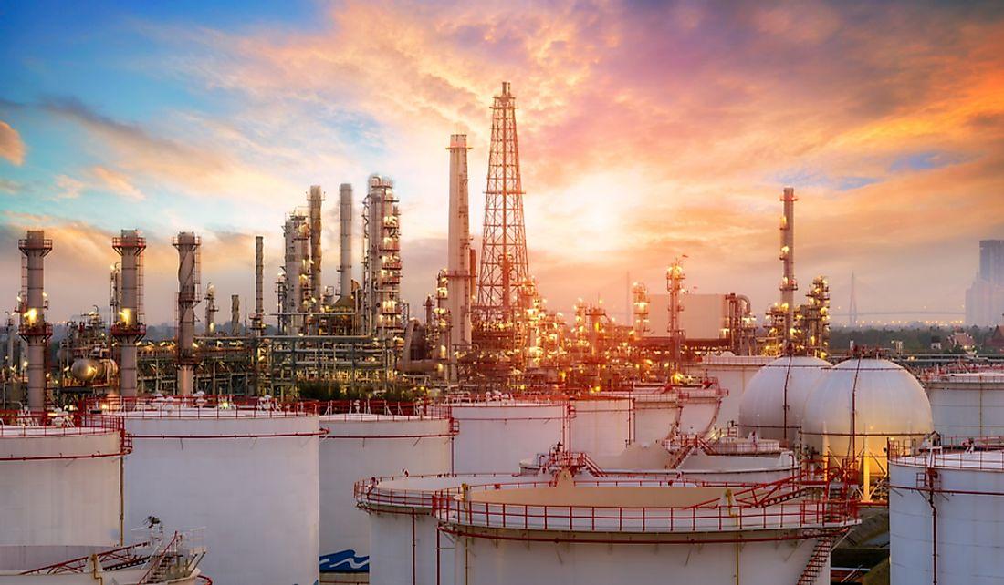 What Are The Major Natural Resources Of Saudi Arabia? - WorldAtlas