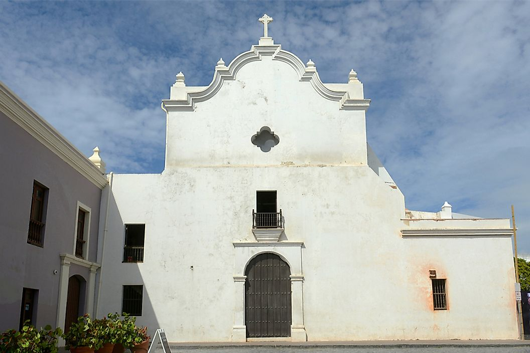 Built in 1532, San Jose Church in located in Old San Juan, Puerto Rico.