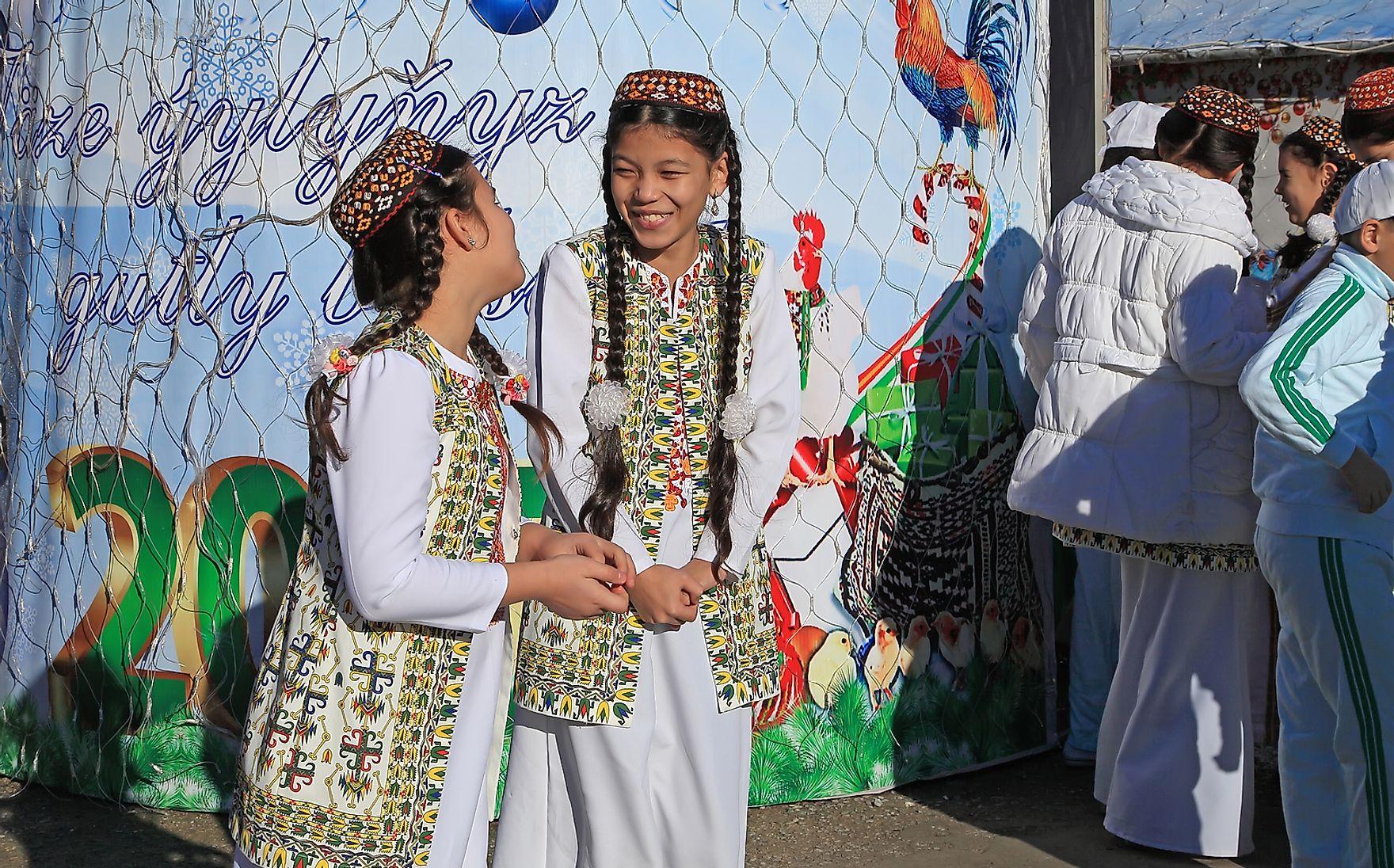 Celebrations in Turkmenistan are allowed, but for years certain types of festive activities were not. velirina / Shutterstock.com.