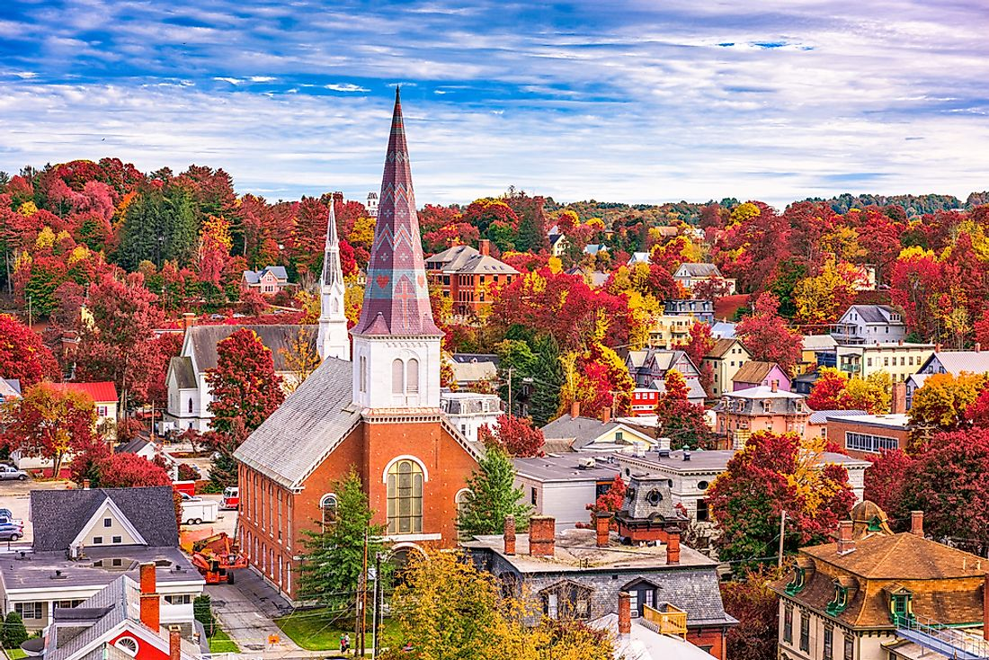 Church in Montpelier, the capital city of the state of Vermont.