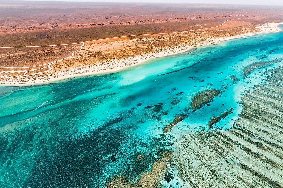 Ningaloo Reef, the newest UNESCO World Heritage Site in Australia.