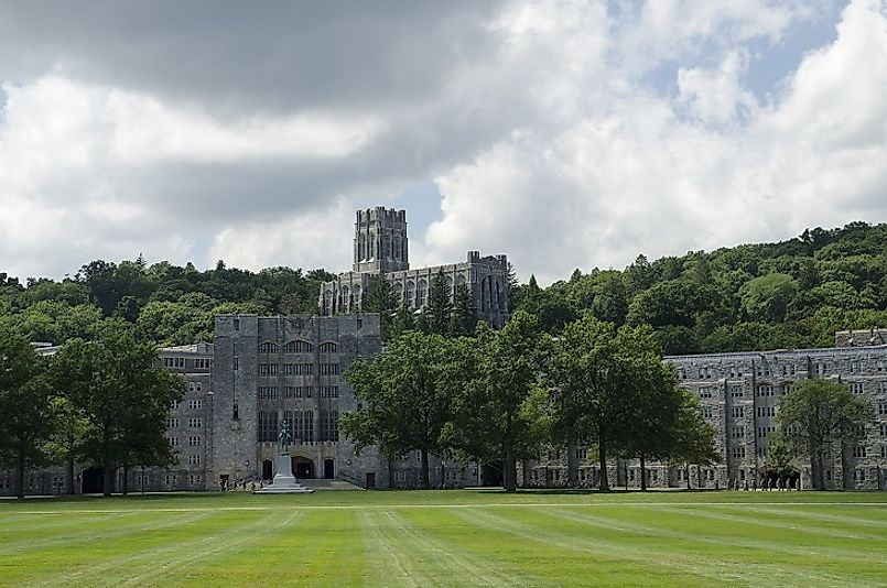 West Point Military Academy in the U.S. state of New York is considered by many to be the finest such institution on the planet.