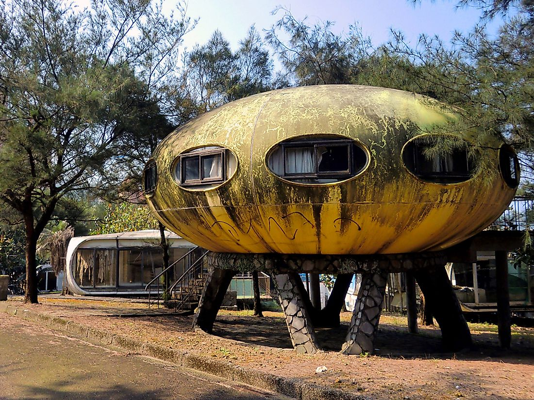 #5 Sanzhi Pod Houses - Taiwan