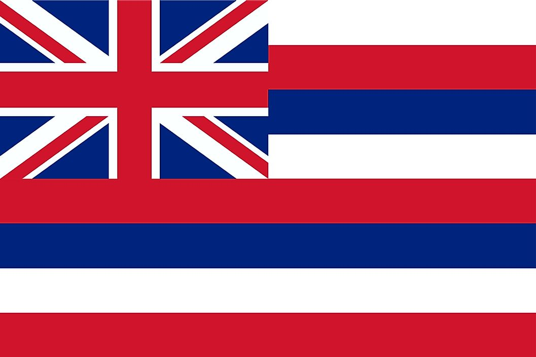 The state flag of Hawaii.