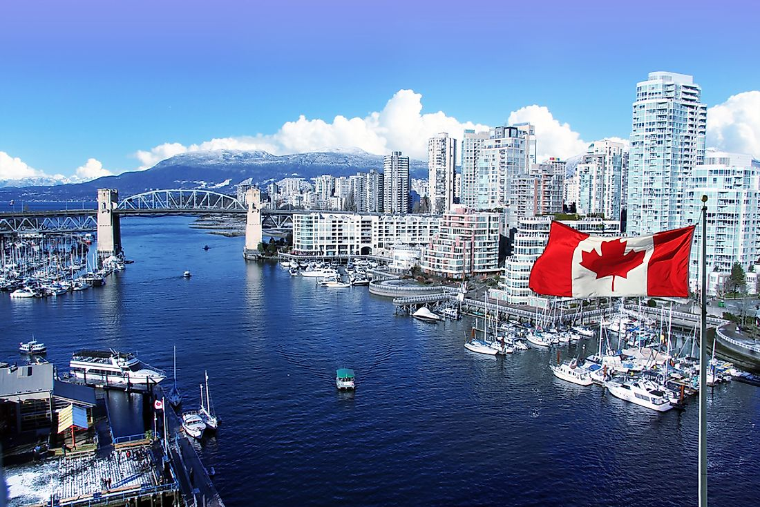 American tourists visiting Canada seem to have a particular penchant for Vancouver, British Columbia.