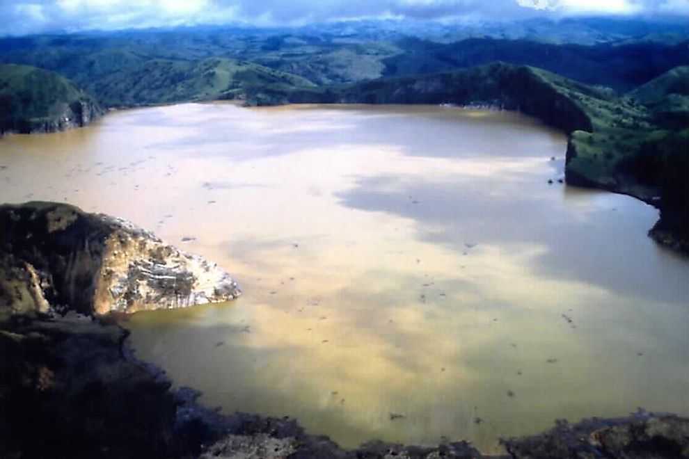 Lake Nyos, the world's deadliest lake.