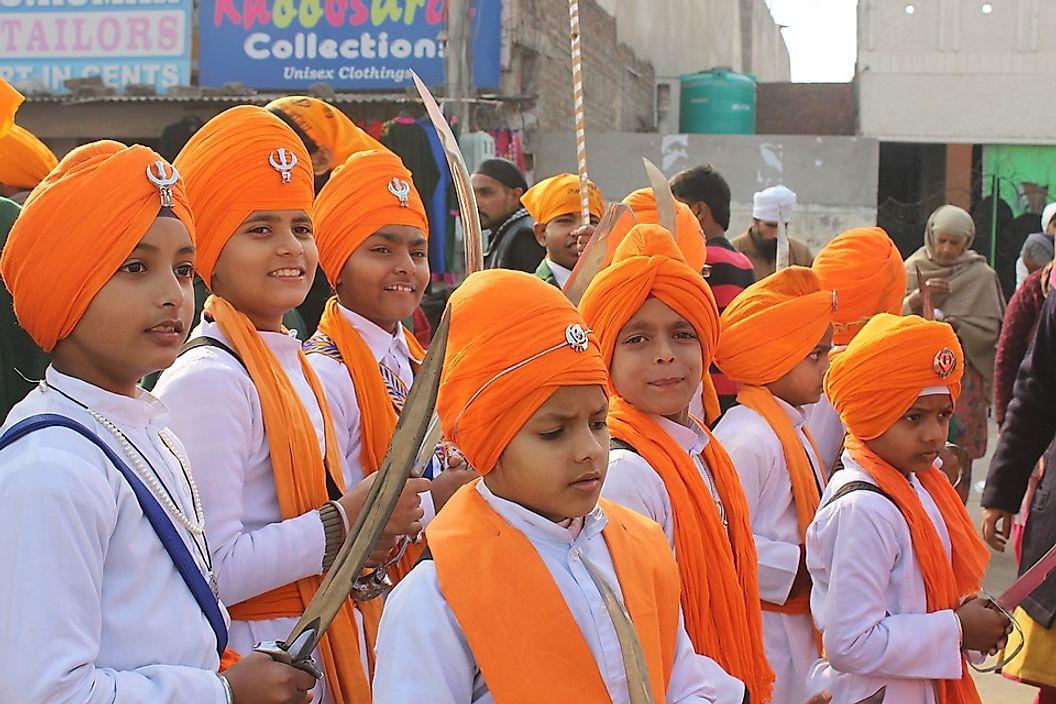 Sikhism A Monotheistic Indian Religion Worldatlas Com