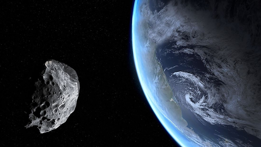 The likelihood of an asteroid surpassing a planet in size is very low.