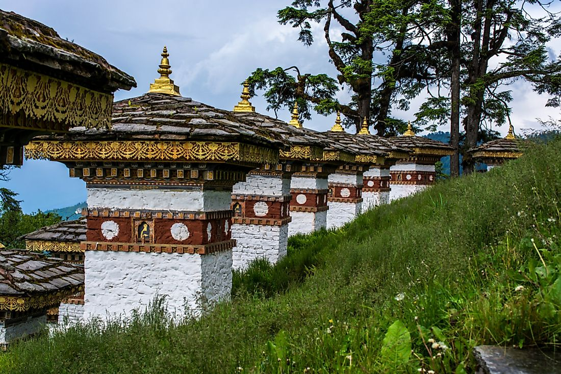 "Bhutan has been called the world's only ""carbon negative"" country."