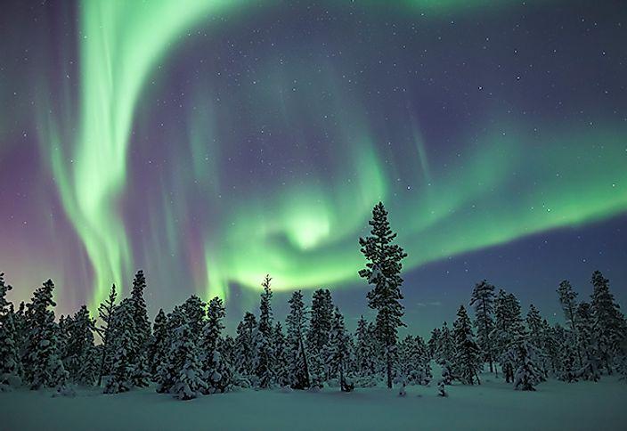 The seven natural wonders of the world for Sfondi aurora boreale