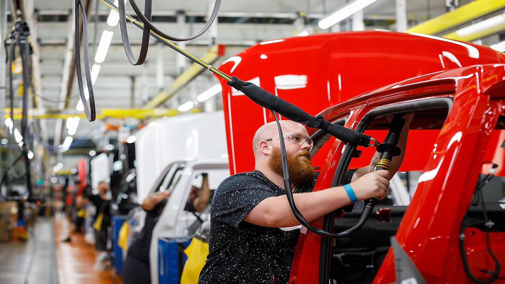 The automobile industry is one of Indiana's major industries.