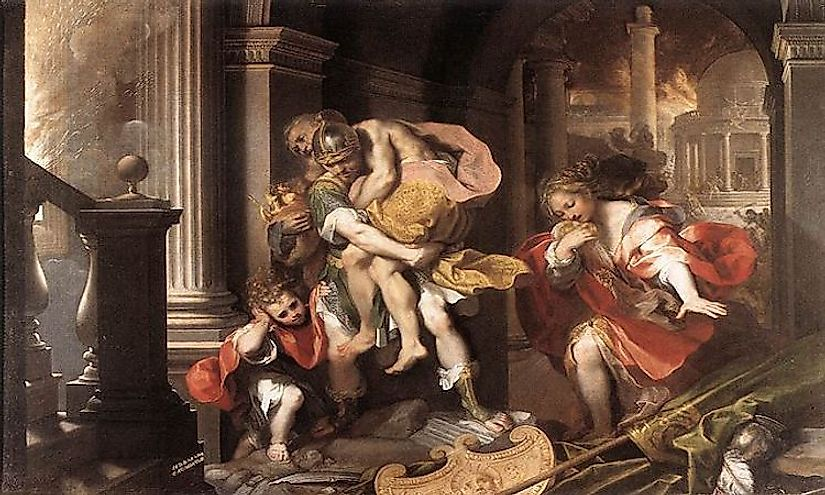 what was the baroque art movement