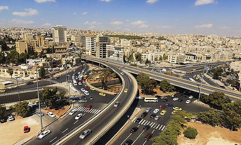 Amman is Jordan's most populous city with more than one million people.