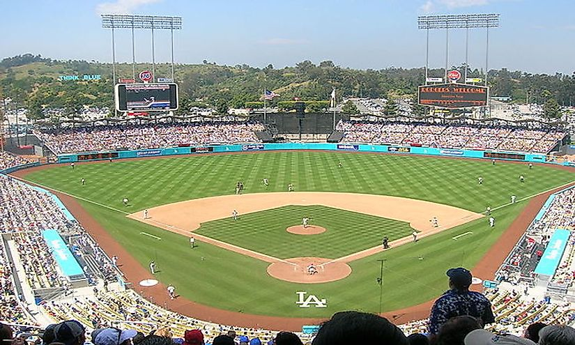 fd7b92064 The Largest Baseball Stadiums In The United States. Dodger Stadium ...