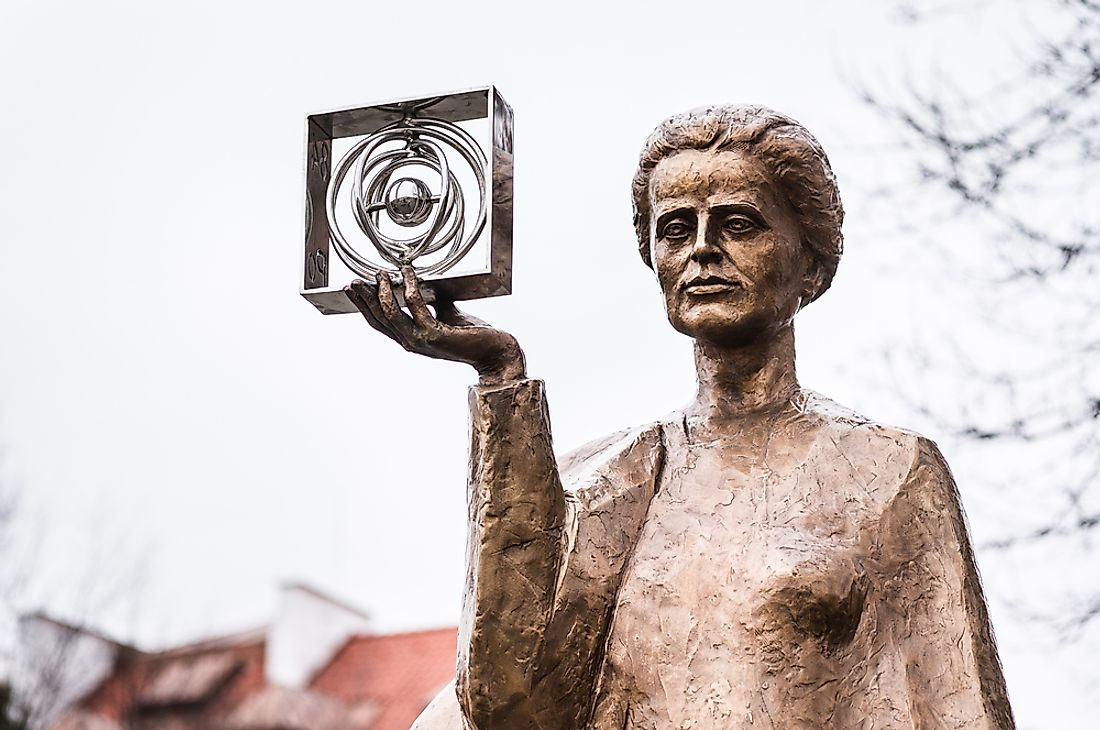 Scientist Marie Curie won the Nobel Prize twice and was the first woman to win the prestigious prize. Editorial credit: HUANG Zheng / Shutterstock.com