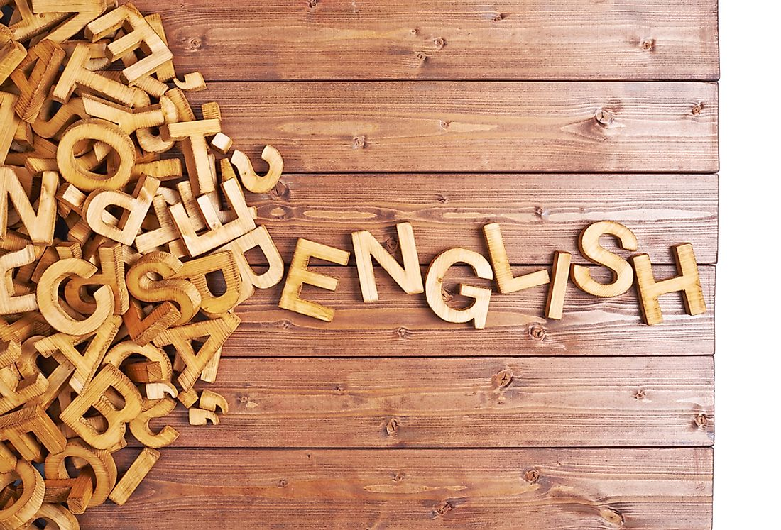 English is widely spoken across the globe.