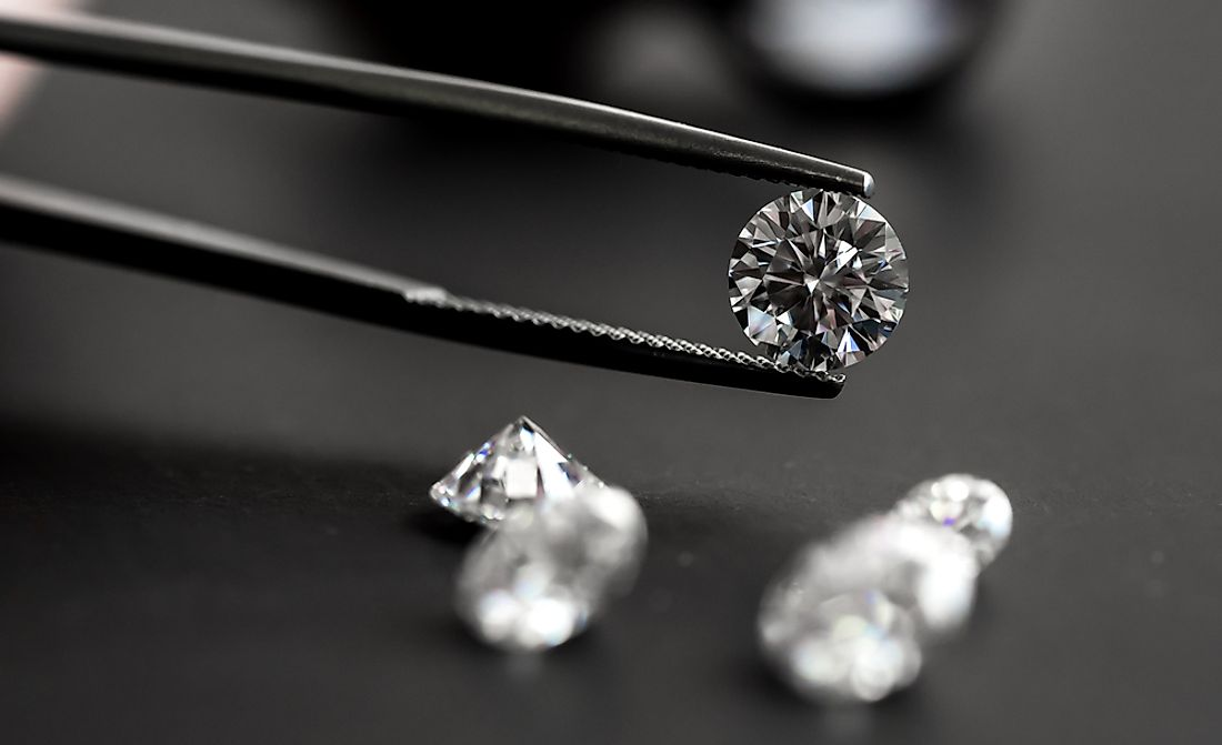 Diamonds are among the oldest and hardest of all minerals.