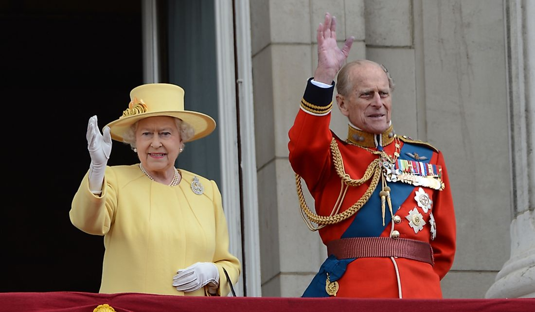 Queen Elizabeth and her husband Prince Philip, Duke of Edinburgh. Editorial credit: Featureflash Photo Agency / Shutterstock.com