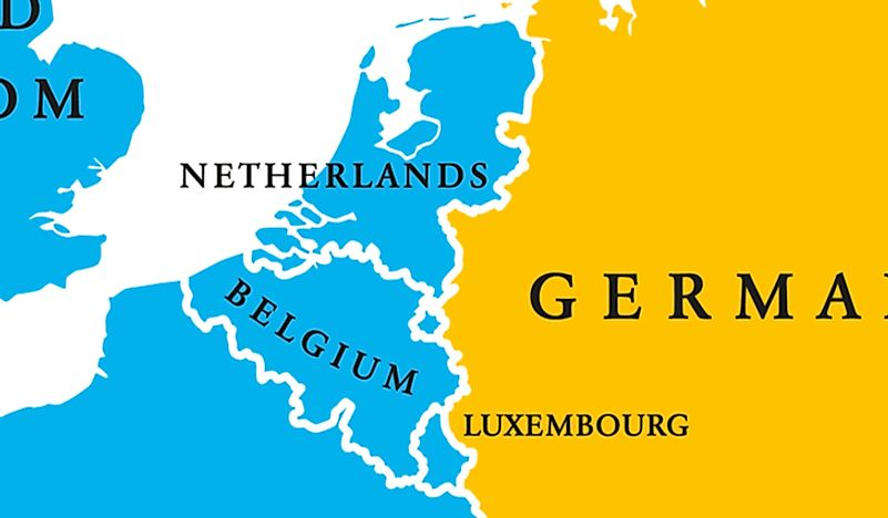"Belgium lies at the center of what are known as the ""Low Countries""."