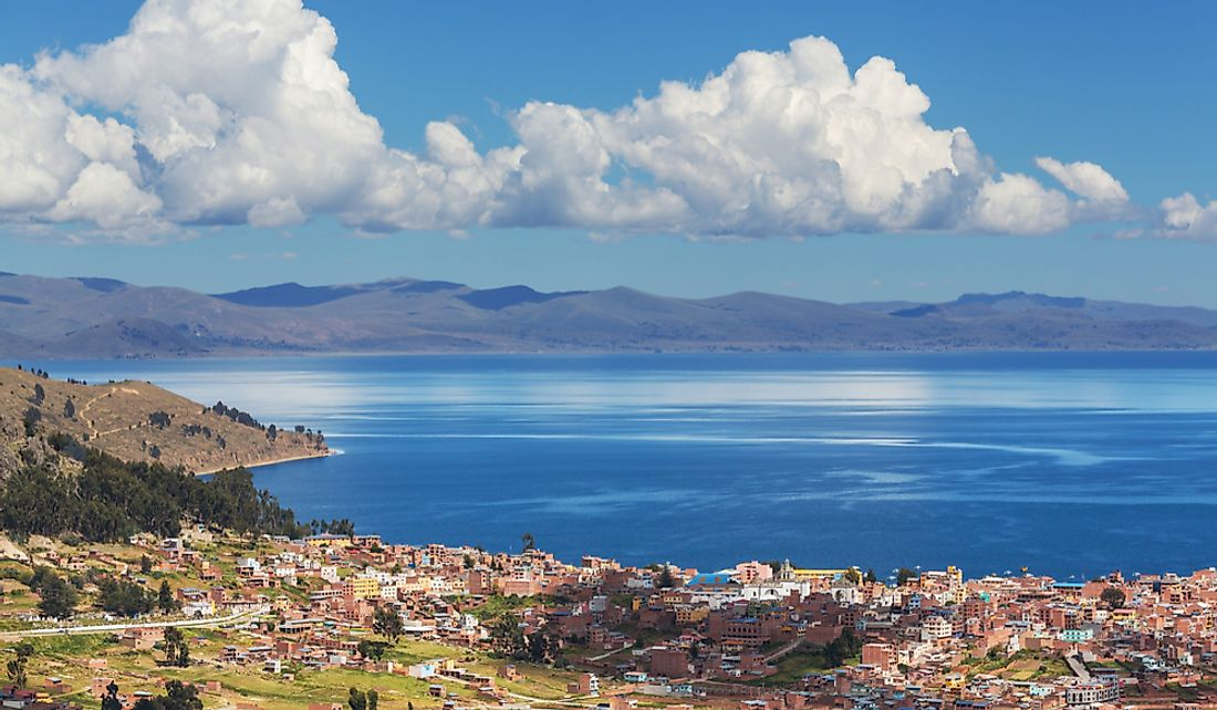 Lake Titicaca is Bolivia's largest permanent lake.