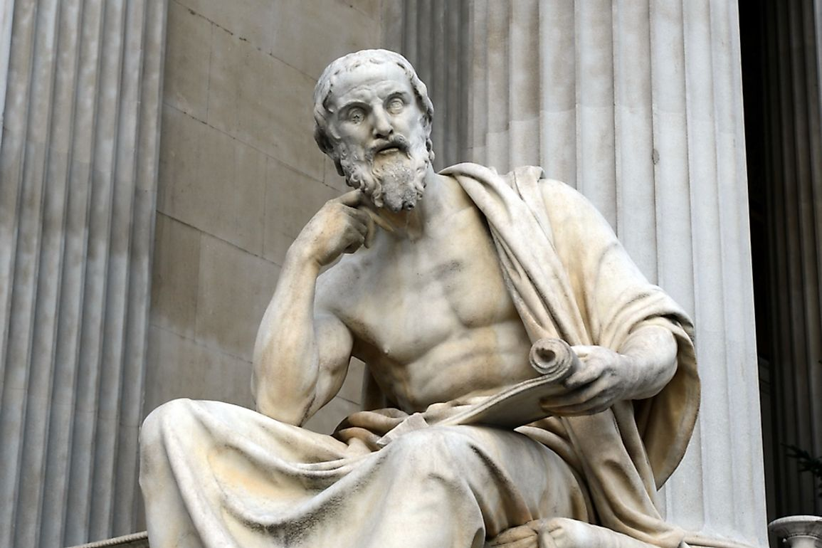 Herodotus documented all aspects of ancient life. Editorial credit: Free Wind 2014 / Shutterstock.com
