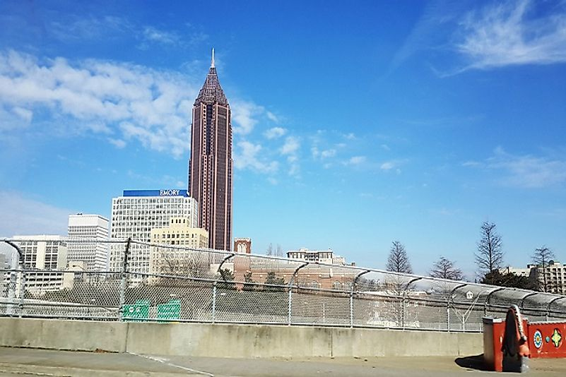 #10 Bank of America Plaza, Atlanta - 1,023 Feet