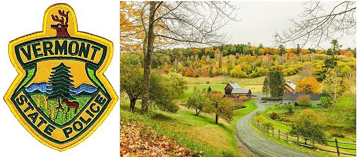 Picturesque Vermont has fewer law enforcement officials than any other U.S. state.