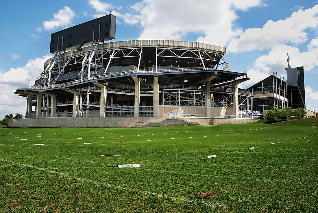 The Largest Stadiums In North America Worldatlas Com
