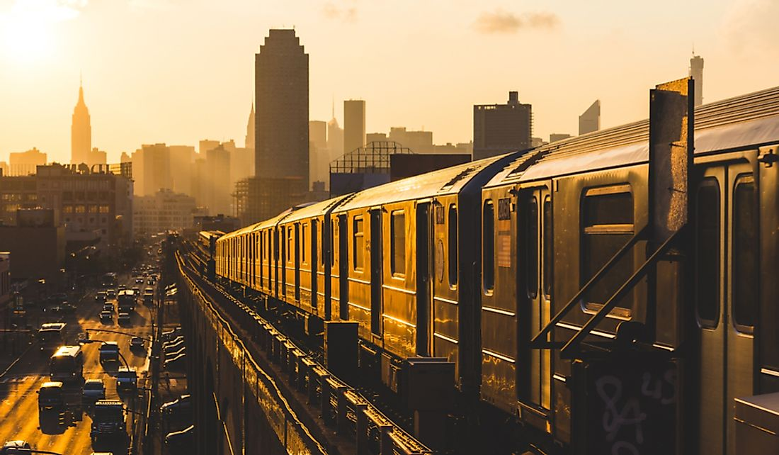Almost 9 million people ride the New York City subway each workday.