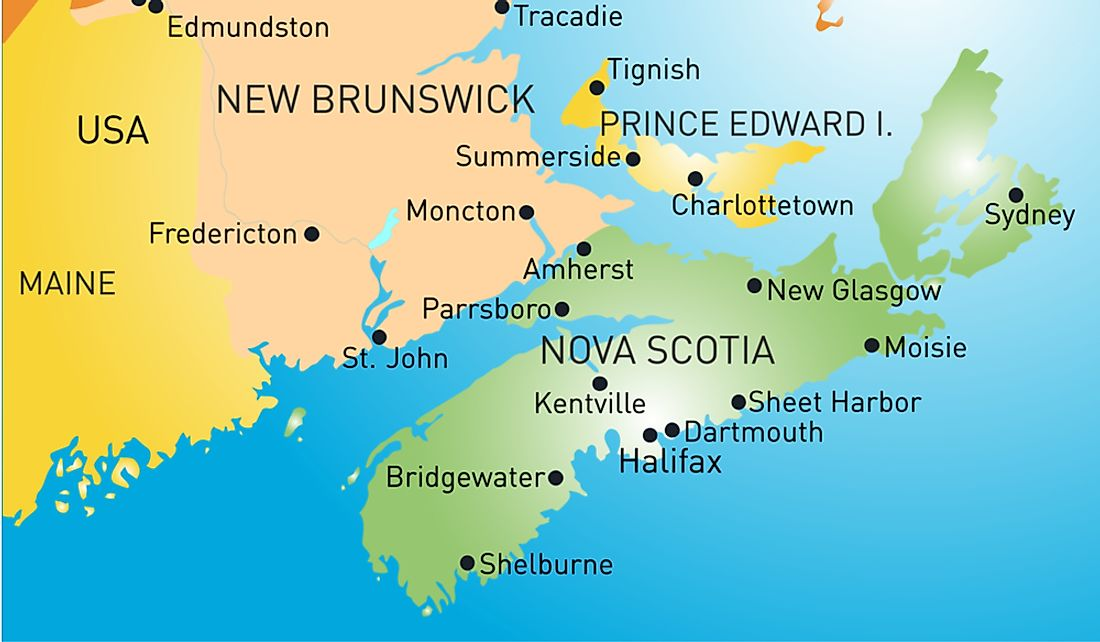 The Isthmus of Chignecto is an isthmus that connects Nova Scotia to New Brunswick.