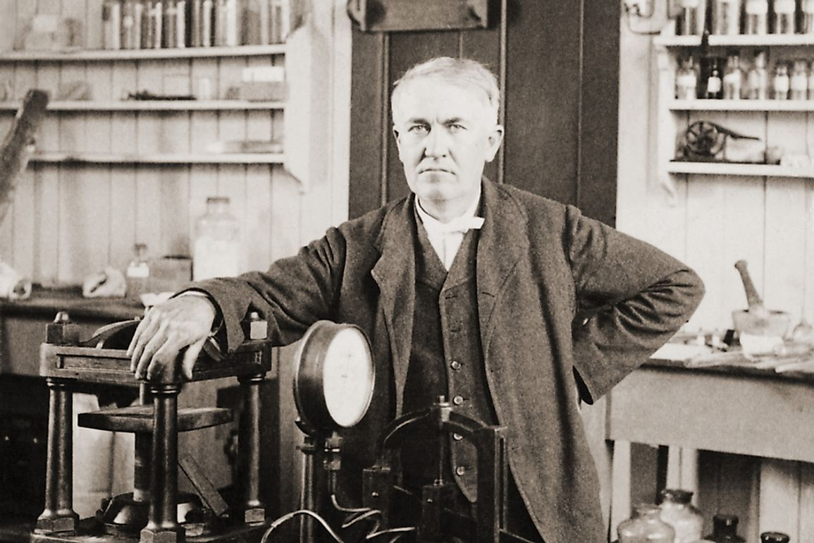 Thomas Edison is regarded as one of the world's greatest inventors of all time.